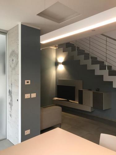 ingresso e sala Marzia melotti room design 8